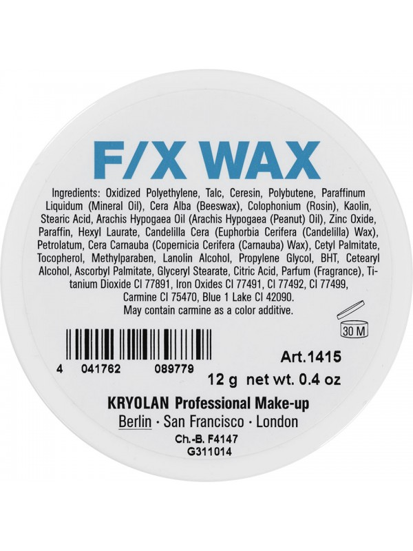 Cire F/X Wax - Kryolan KryolanEffets spéciaux