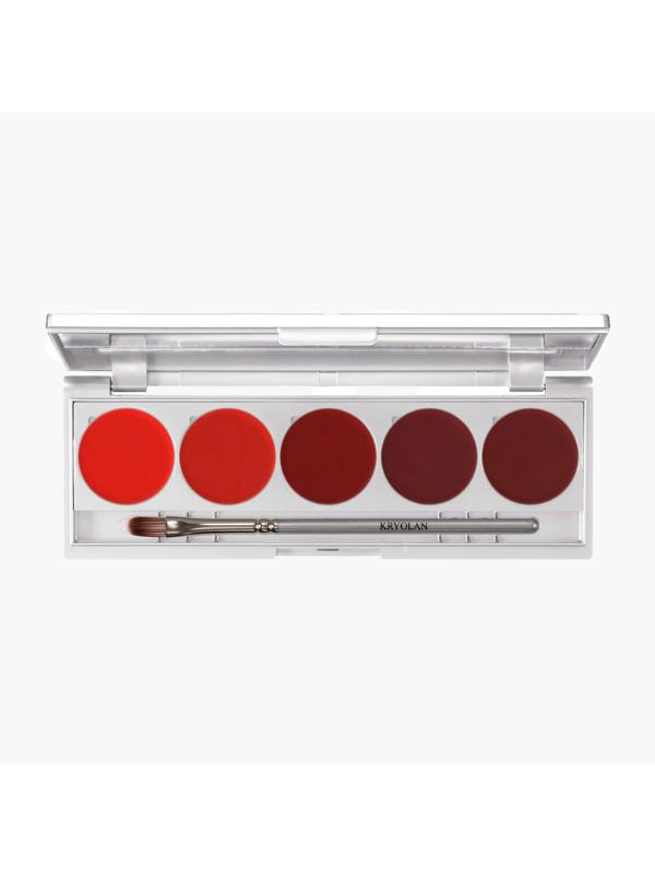 Palette 5 Rouges à Lèvres Magnétiques - Kryolan KryolanBeauté
