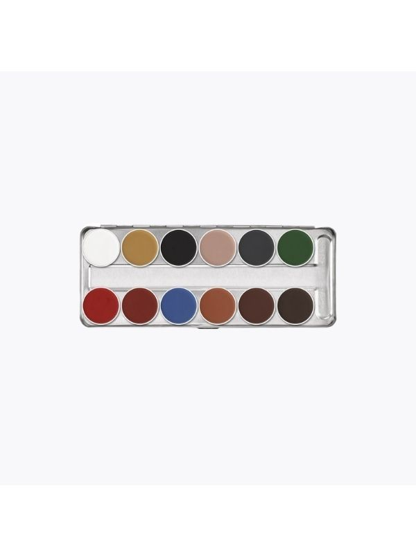 Palette Aquacolor 12 couleurs - Kryolan KryolanMaquillage