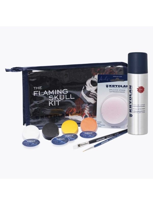 Flaming Skull Kit - Kryolan KryolanMaquillage