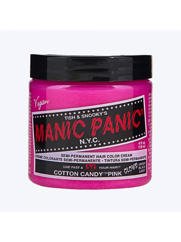 Cotton candy pink - Classic High Voltage Manic PanicManic Panic