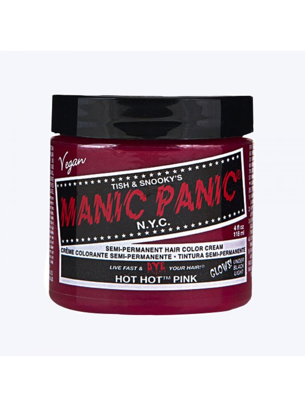 Hot hot pink - Classic High Voltage Manic PanicManic Panic