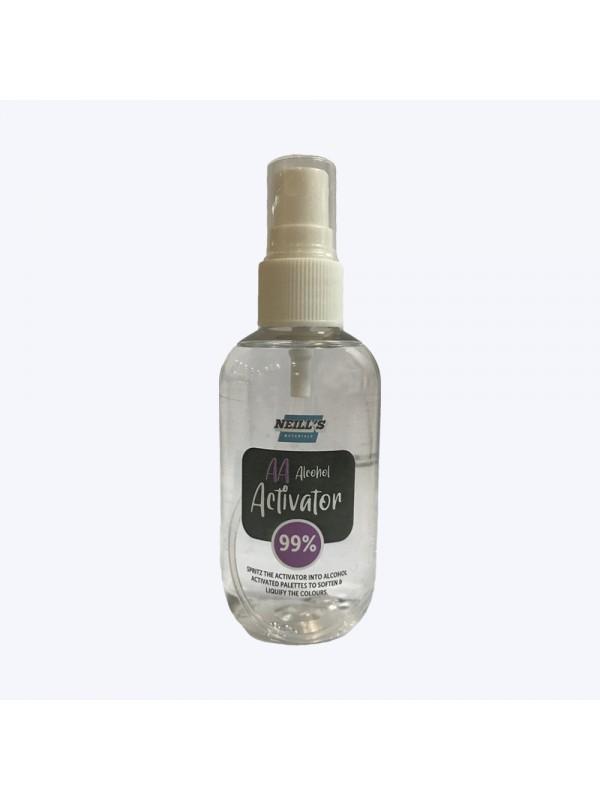 Spray activateur d'alcool 99% - Neill's Neill's materialsMaquillage