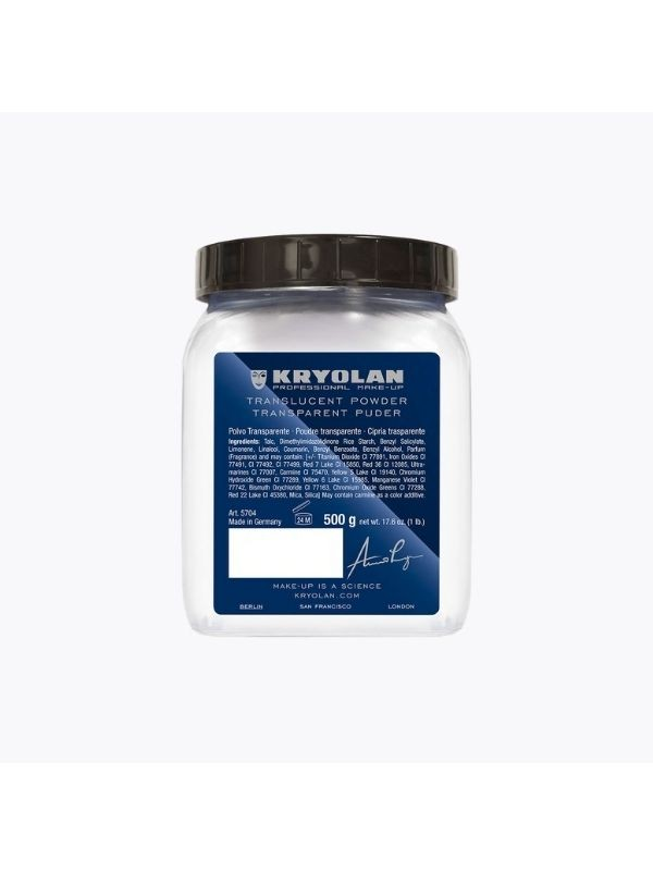 Translucent powder 500g TL3 - Kryolan KryolanBeauté