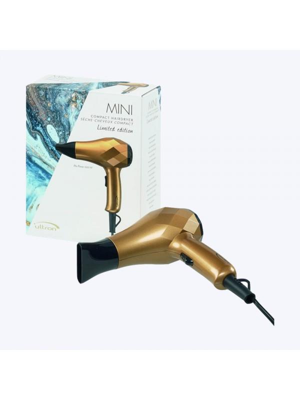 Mini sèche-cheveux doré - Ultron SibelDéstockage