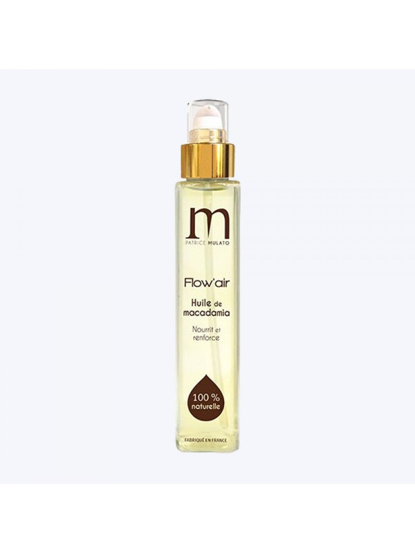 Huile de macadamia - Flow'air MulatoSoin et shampooing