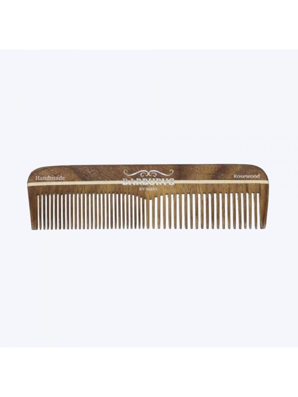 Peigne à barbe rosewood 02 - Barburys SibelLa barbe
