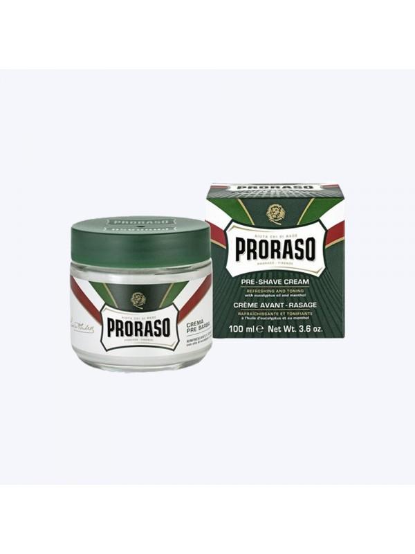 Crème avant rasage rafraîchissante et tonifiante - Proraso ProrasoLe rasage