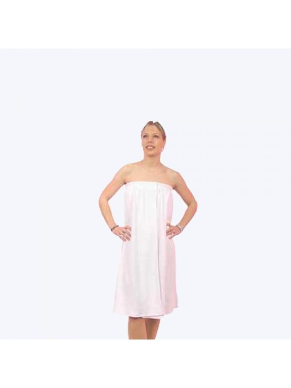 pareo lyna blanc eponge strech - Integral Beauty Shop Hair ProfessionnalLinge/jetable