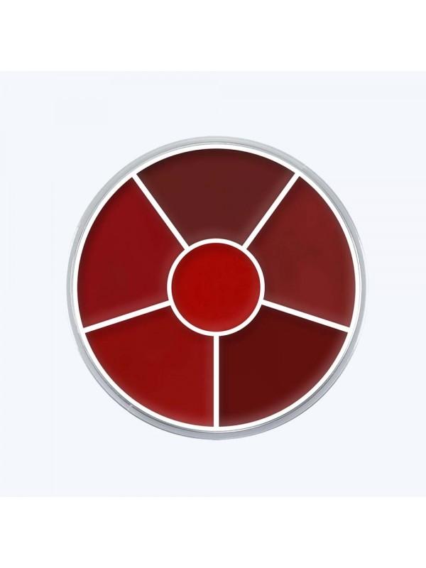 Palette 6 rouge à lèvres - Kryolan KryolanLèvres